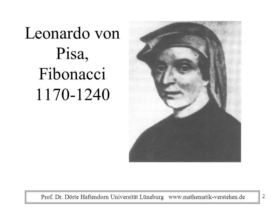 Leonardo von Pisa, Fibonacci 1170-1240