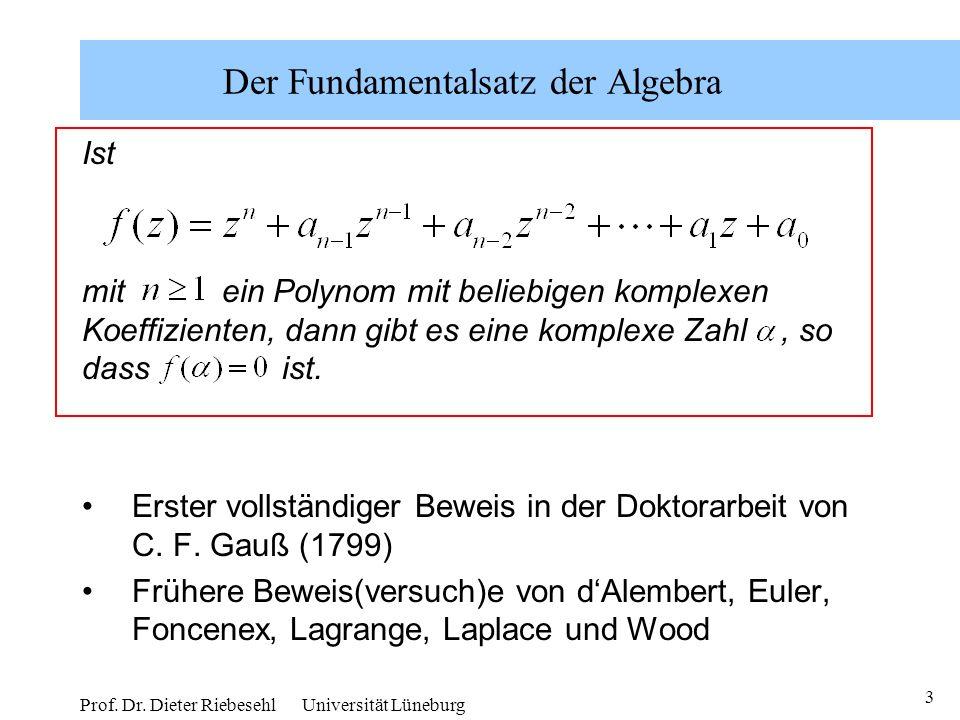 Amazing Fundamentalsatz Der Algebra Arbeitsblatt Festooning ...
