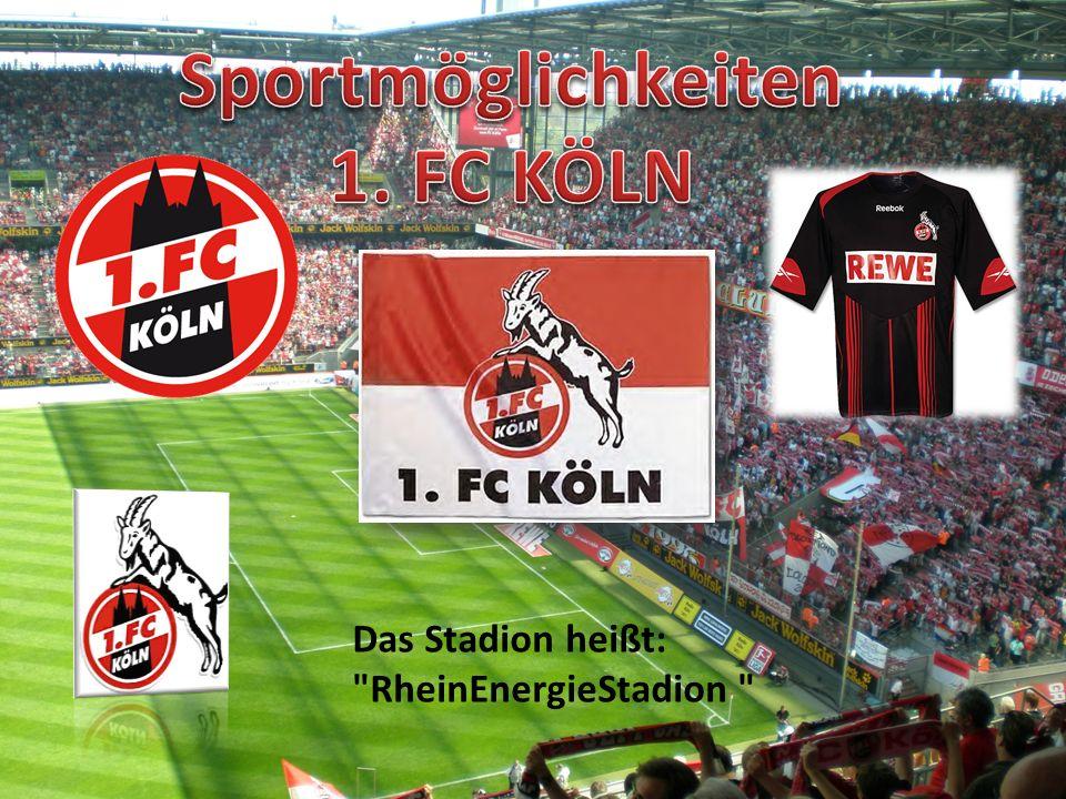 Sportmöglichkeiten 1. FC KÖLN