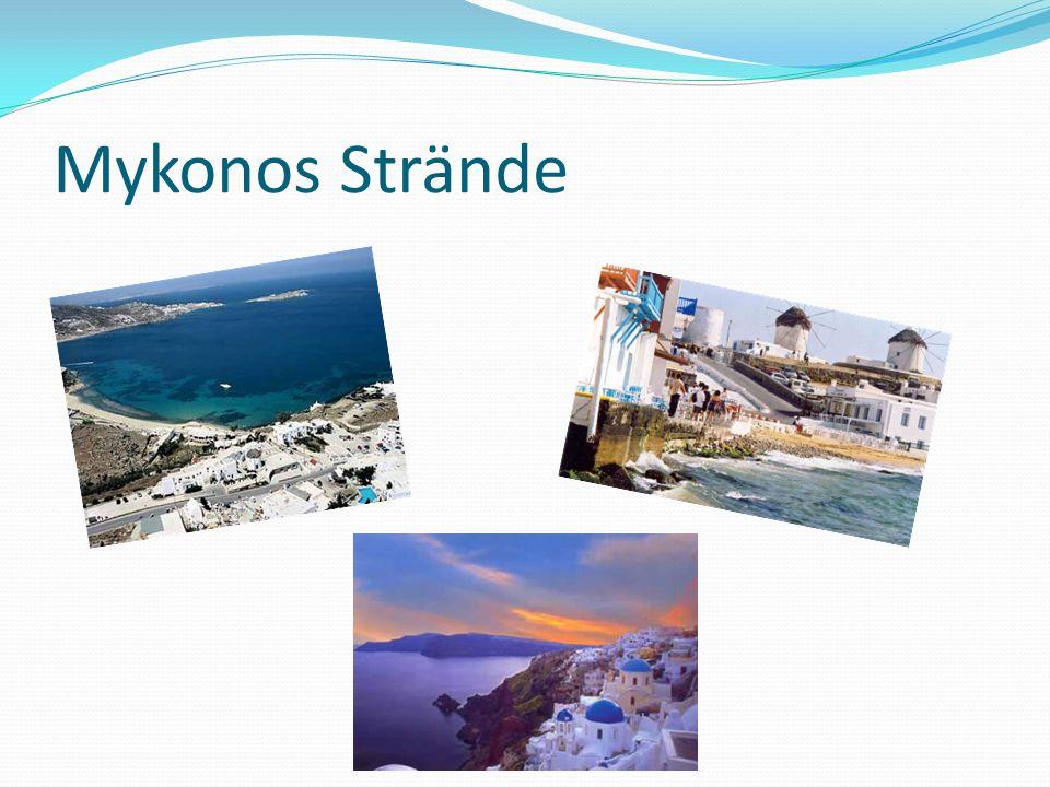 Mykonos Strände