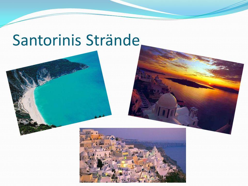 Santorinis Strände