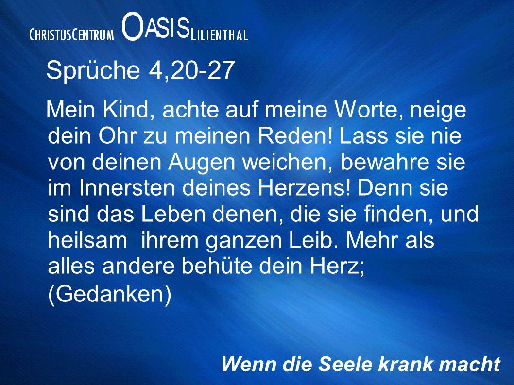 Sprüche 4,20-27