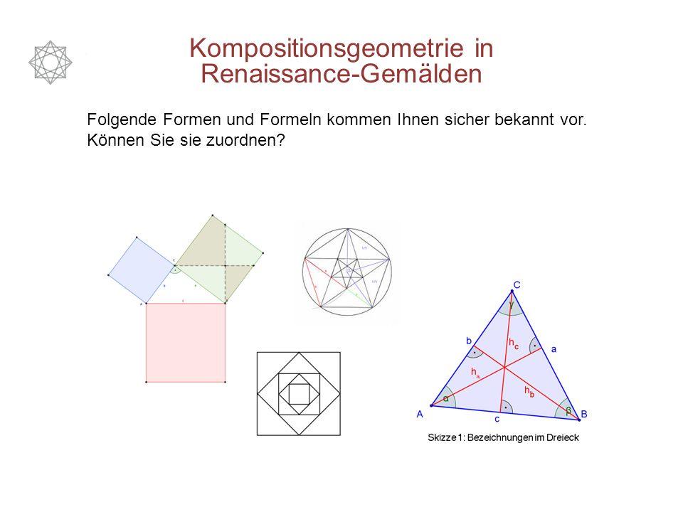 Folgende Formen und Formeln kommen Ihnen sicher bekannt vor.