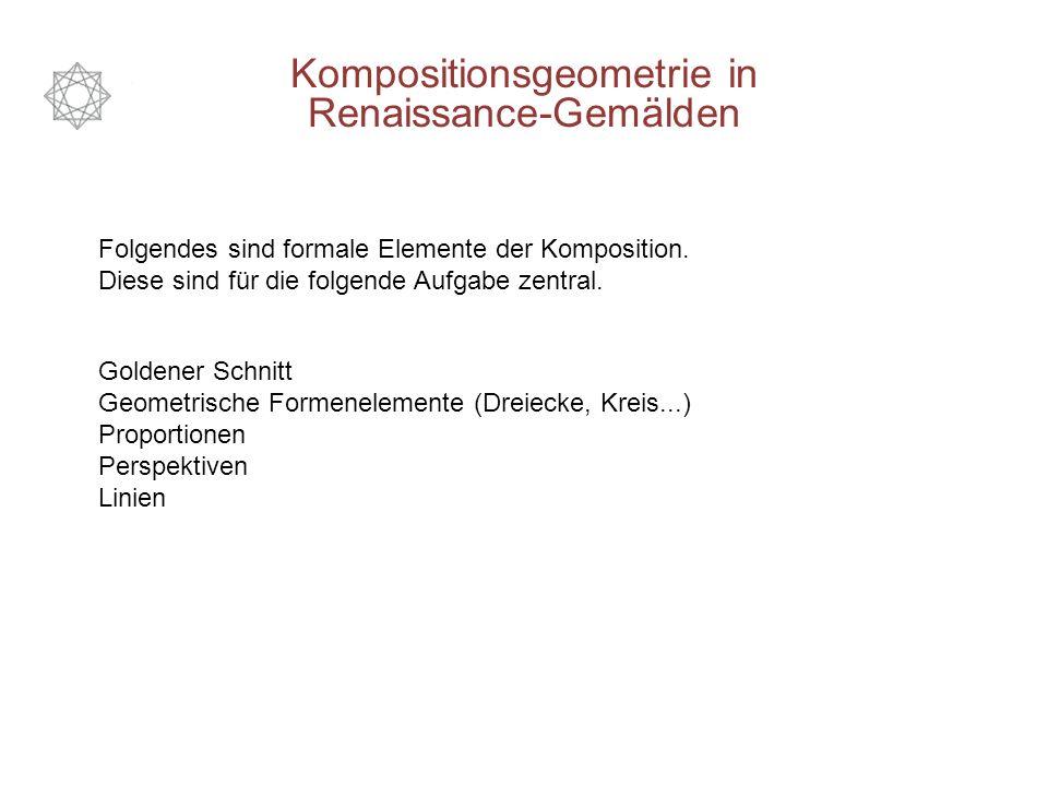 Folgendes sind formale Elemente der Komposition.