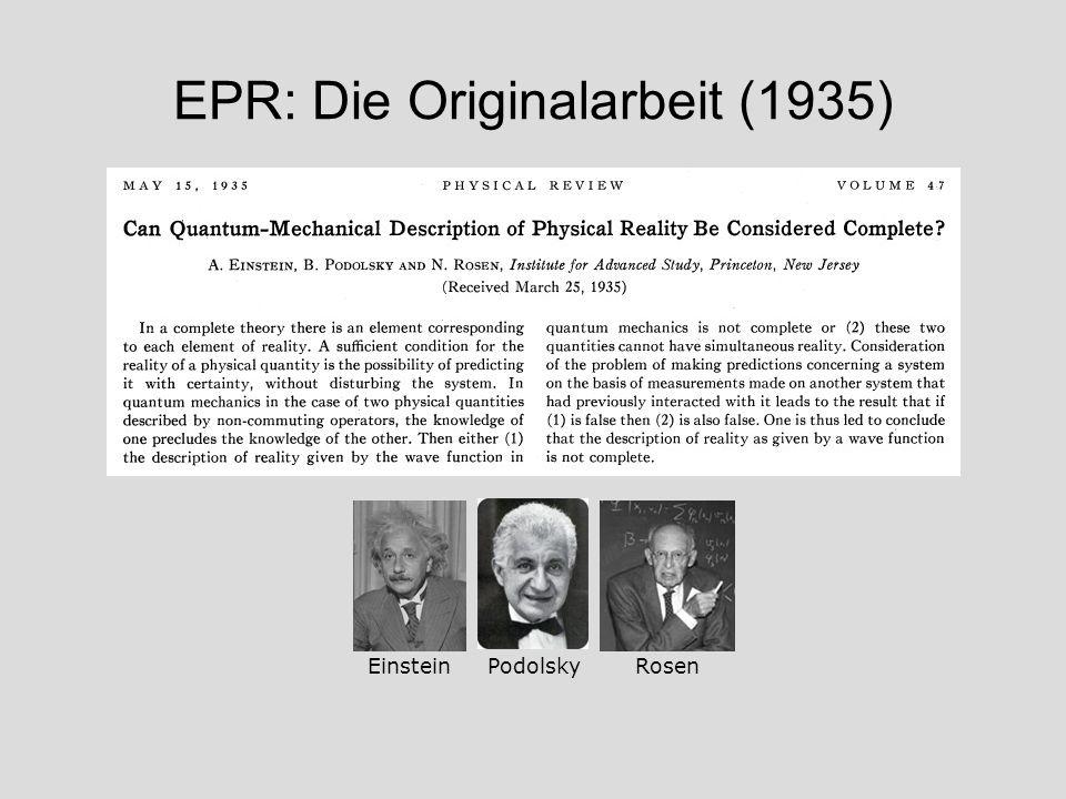 EPR: Die Originalarbeit (1935)