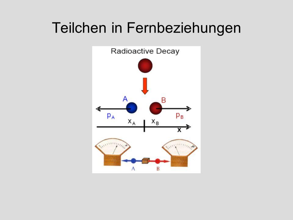 Teilchen in Fernbeziehungen