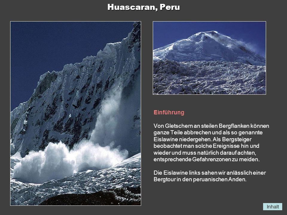 Huascaran, Peru Einführung