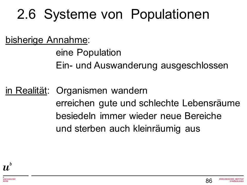 2.6 Systeme von Populationen