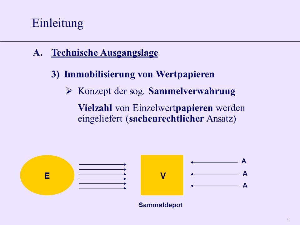 Einleitung A. Technische Ausgangslage