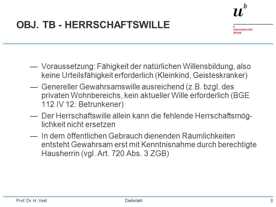 OBJ. TB - HERRSCHAFTSWILLE