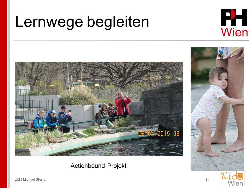 Lernwege begleiten Actionbound Projekt