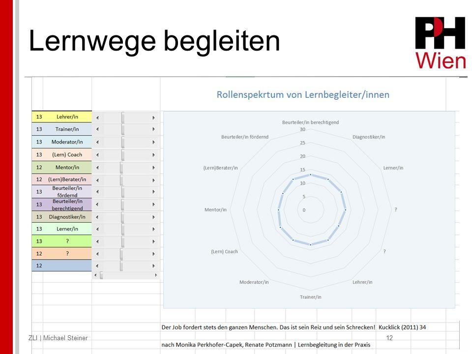 Lernwege begleiten ZLI | Michael Steiner