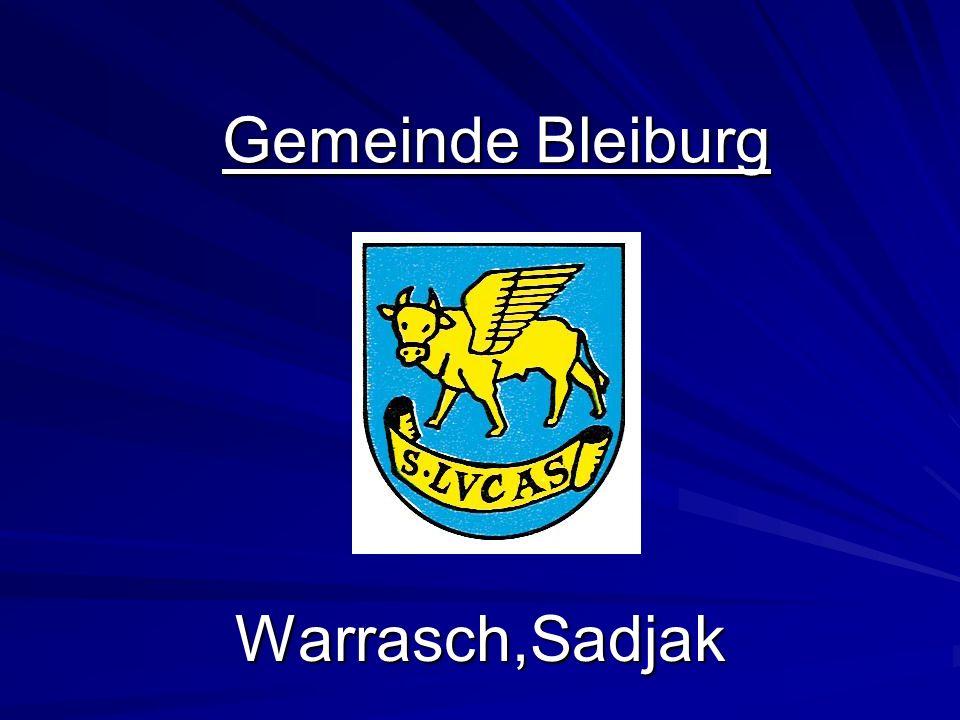 Gemeinde Bleiburg Warrasch,Sadjak