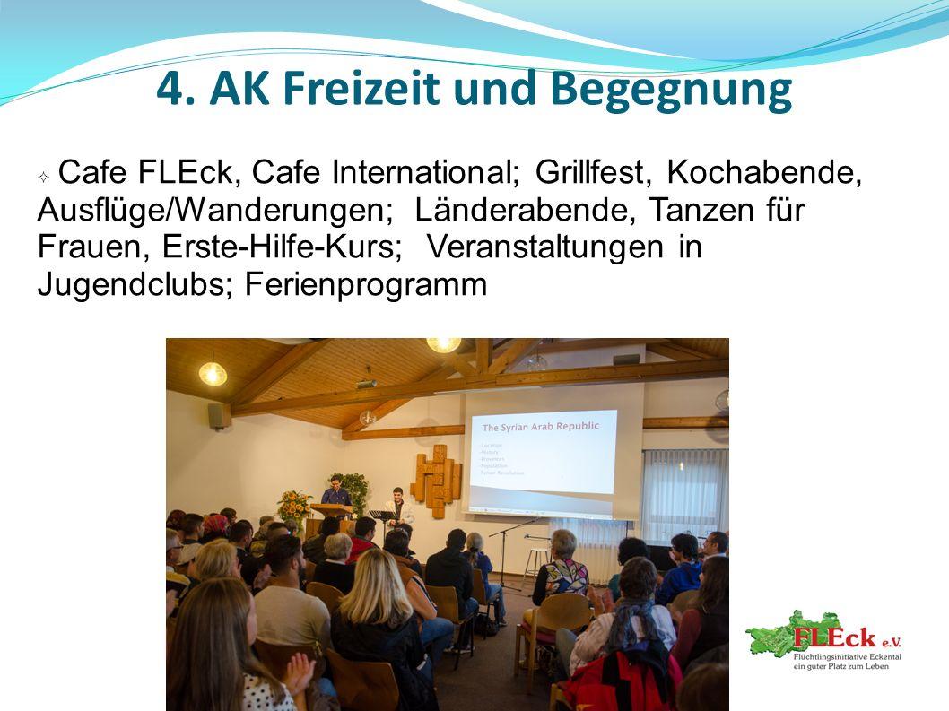 4. AK Freizeit und Begegnung