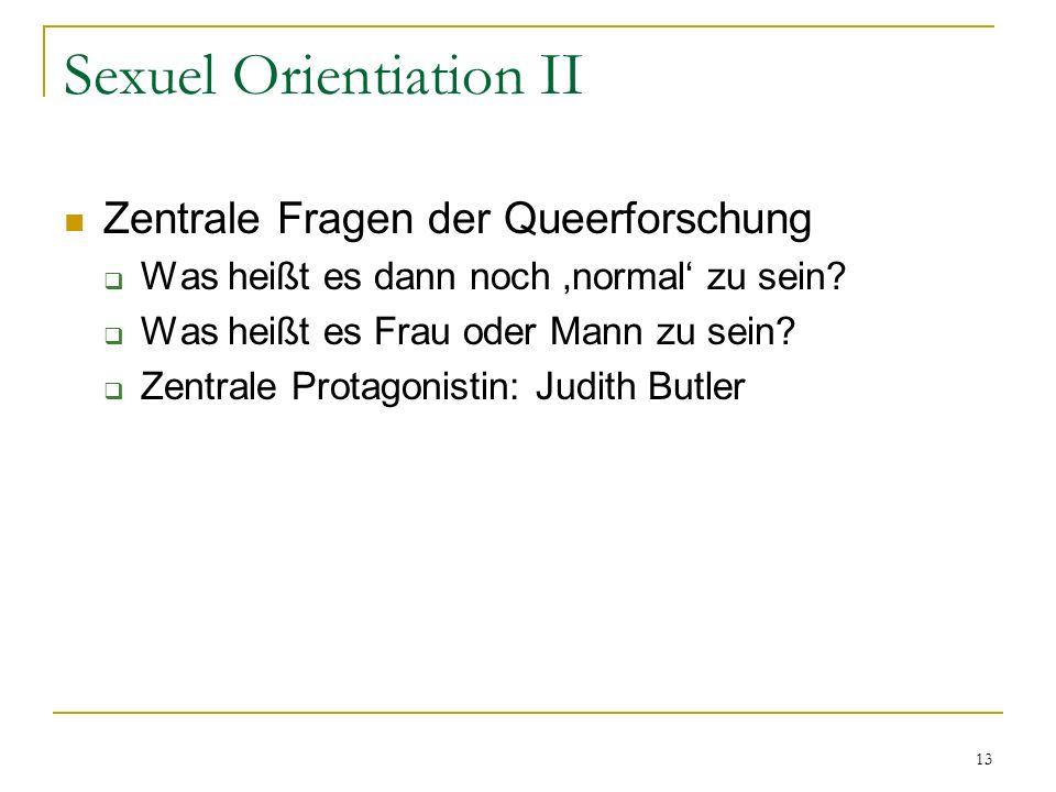 Sexuel Orientiation II
