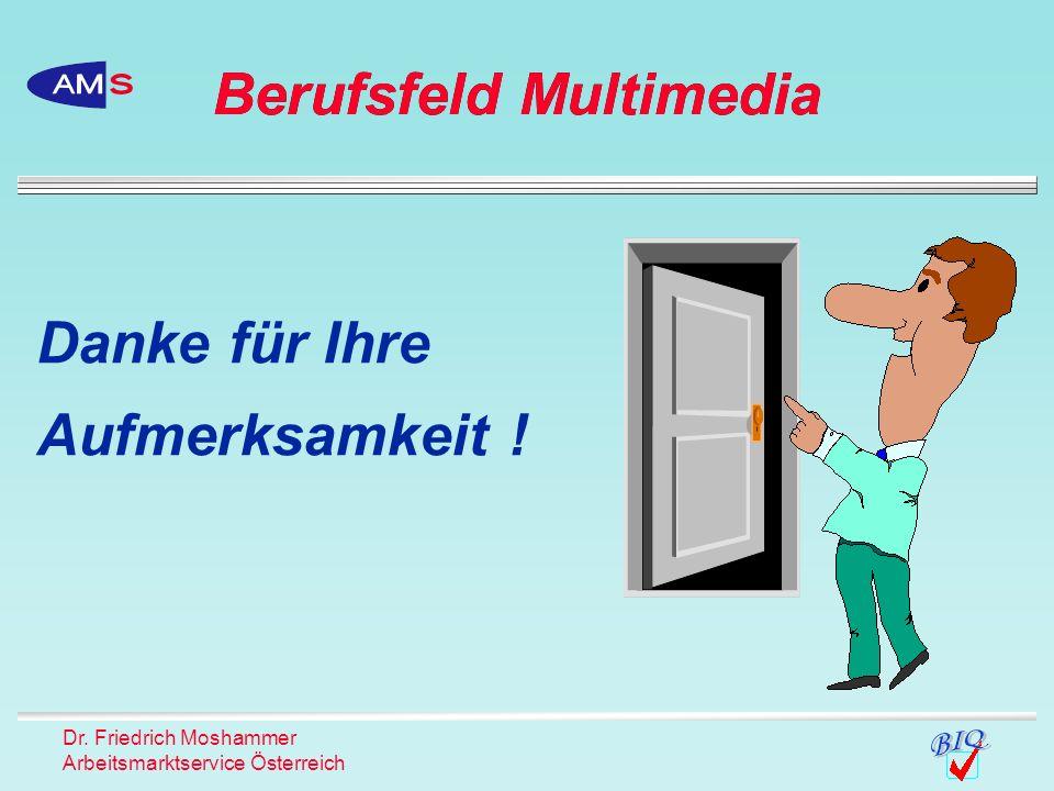 Berufsfeld Multimedia