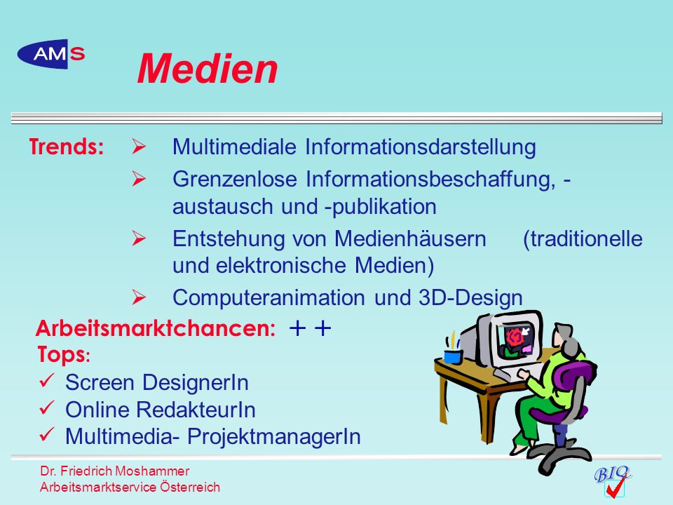 Medien Trends: Multimediale Informationsdarstellung