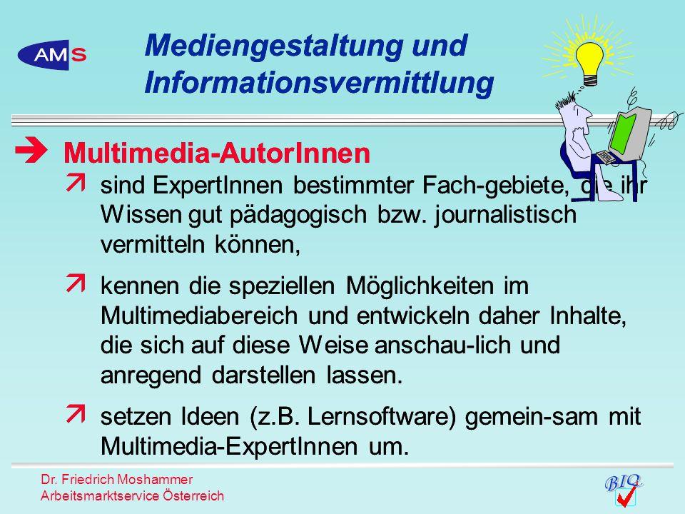 Mediengestaltung und Informationsvermittlung