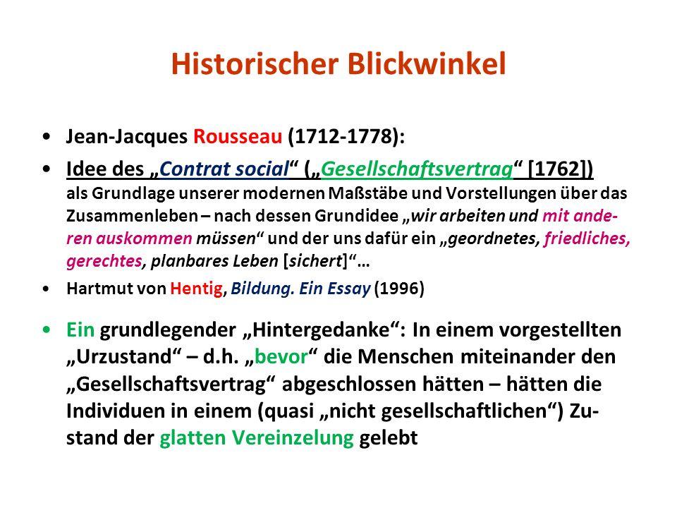 Historischer Blickwinkel