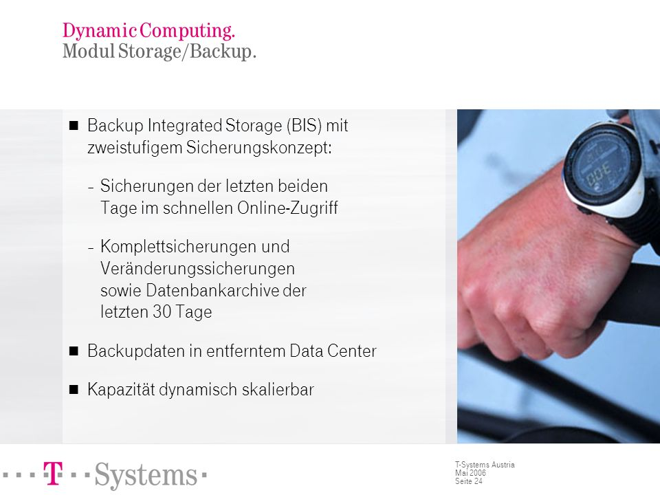 Dynamic Computing. Modul Archive.