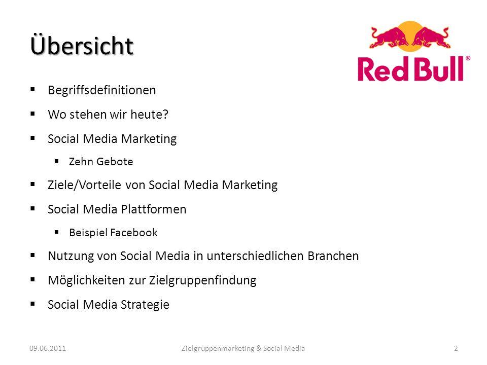 Zielgruppenmarketing & Social Media