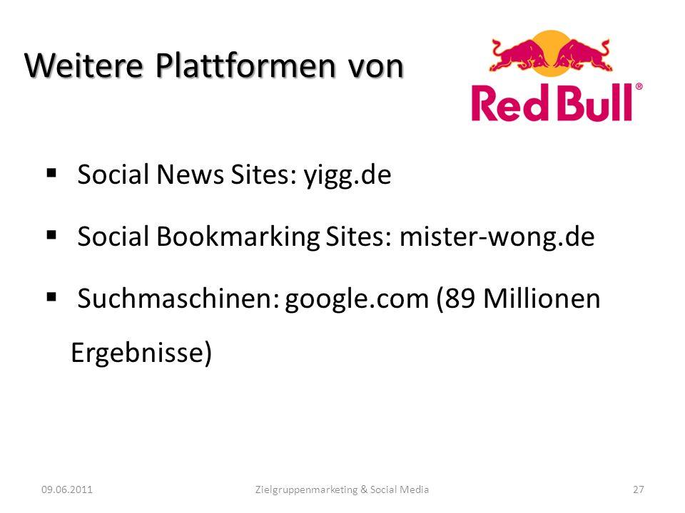 Weitere Plattformen von