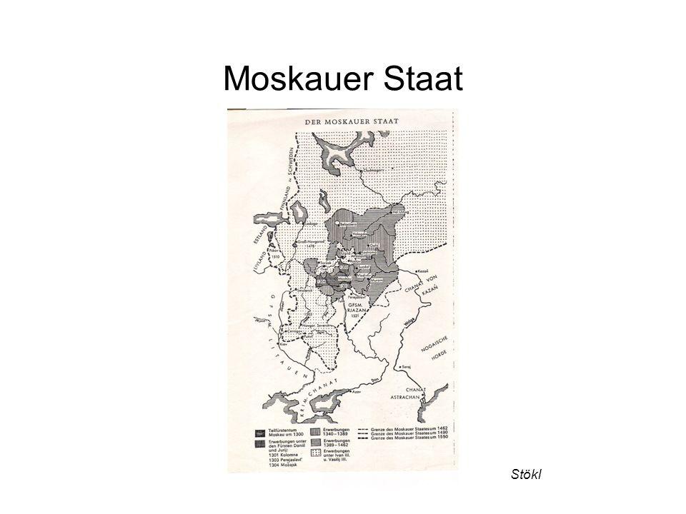 Moskauer Staat Stökl