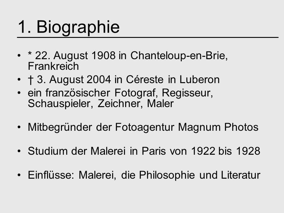 1. Biographie * 22. August 1908 in Chanteloup-en-Brie, Frankreich