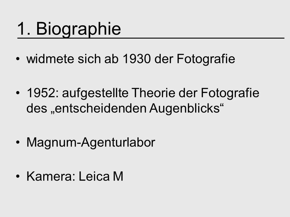 1. Biographie widmete sich ab 1930 der Fotografie