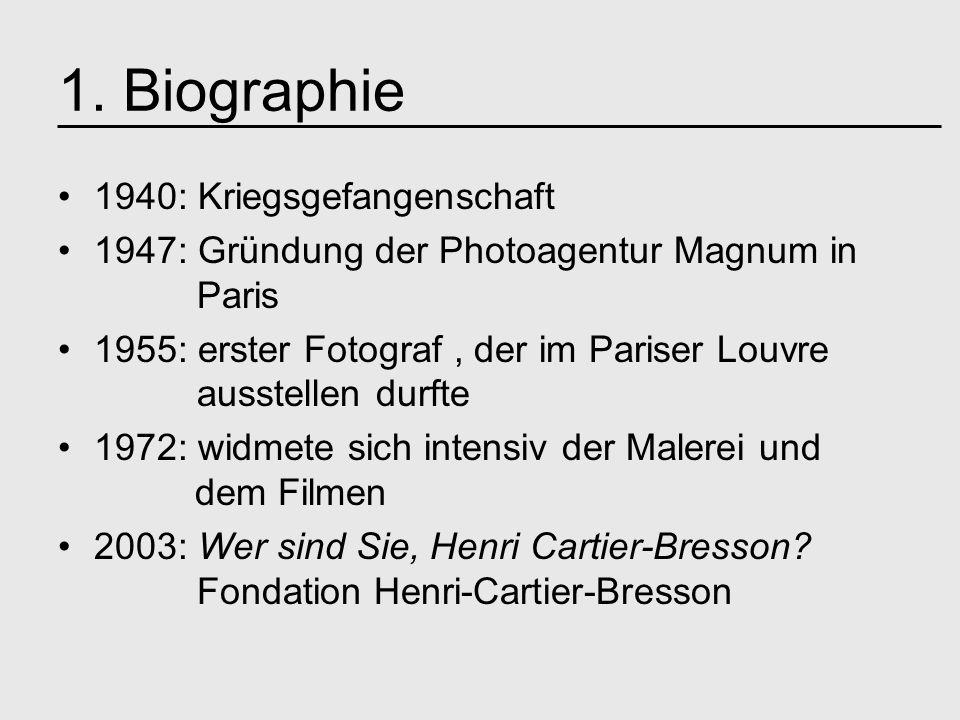 1. Biographie 1940: Kriegsgefangenschaft