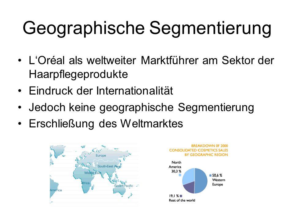 Geographische Segmentierung