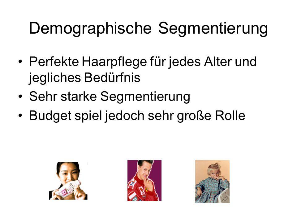 Demographische Segmentierung
