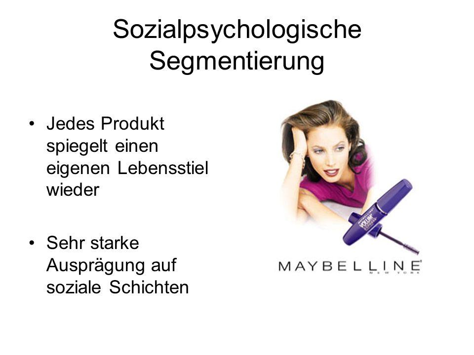Sozialpsychologische Segmentierung