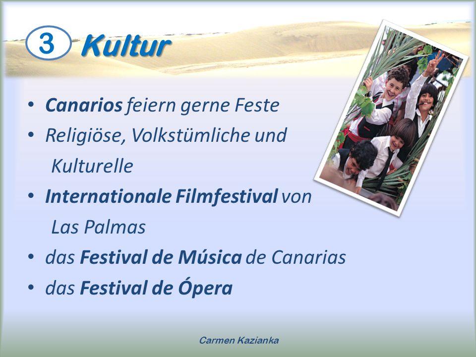 Kultur 3 Canarios feiern gerne Feste Religiöse, Volkstümliche und