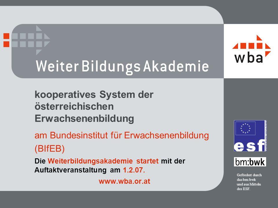 kooperatives System der österreichischen Erwachsenenbildung