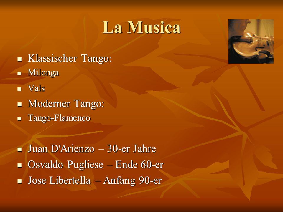La Musica Klassischer Tango: Moderner Tango: