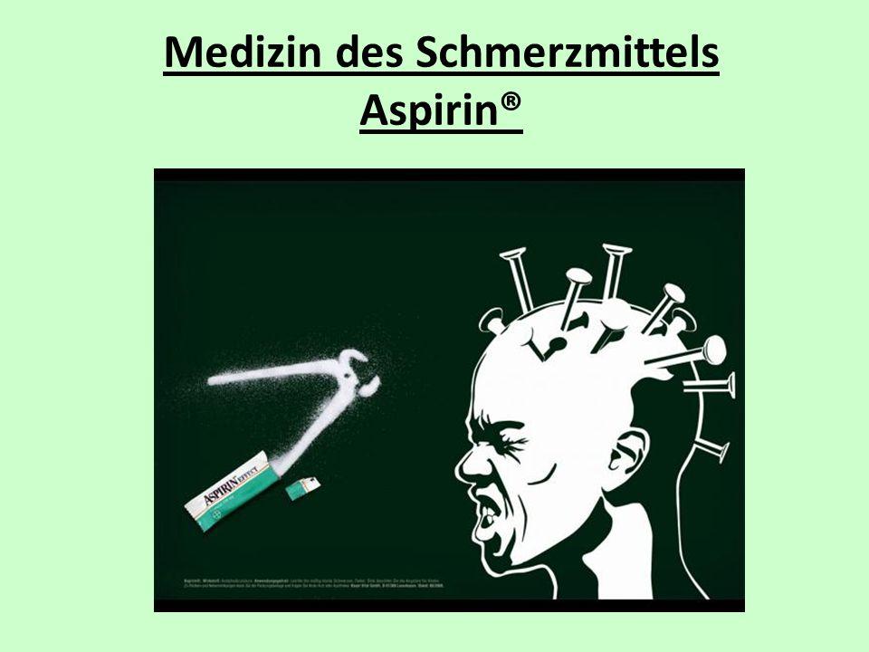 Medizin des Schmerzmittels Aspirin®