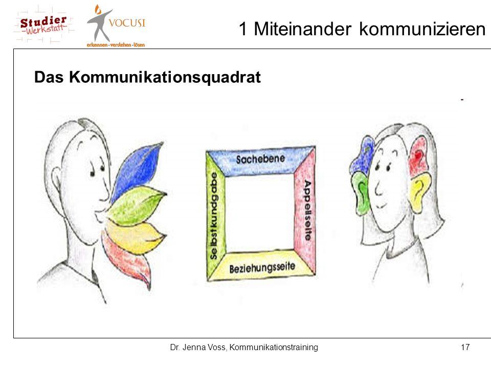 1 Miteinander kommunizieren
