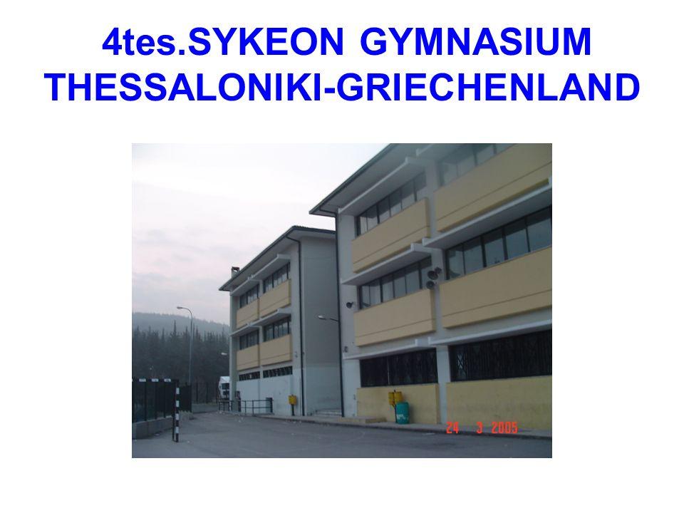 4tes.SYKEON GYMNASIUM THESSALONIKI-GRIECHENLAND