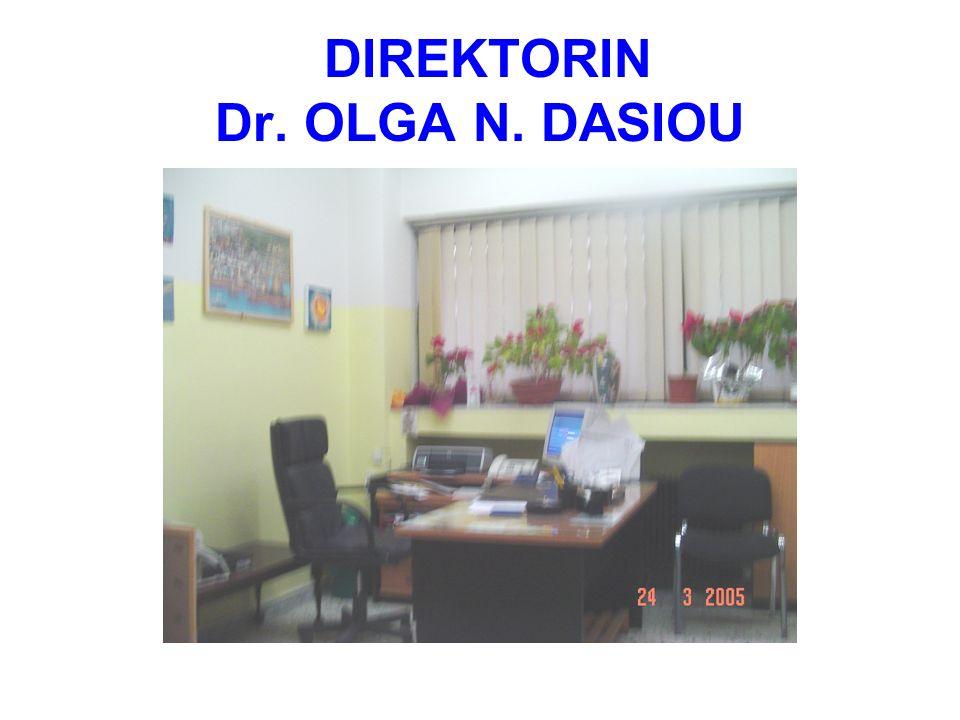 DIREKTORIN Dr. OLGA N. DASIOU