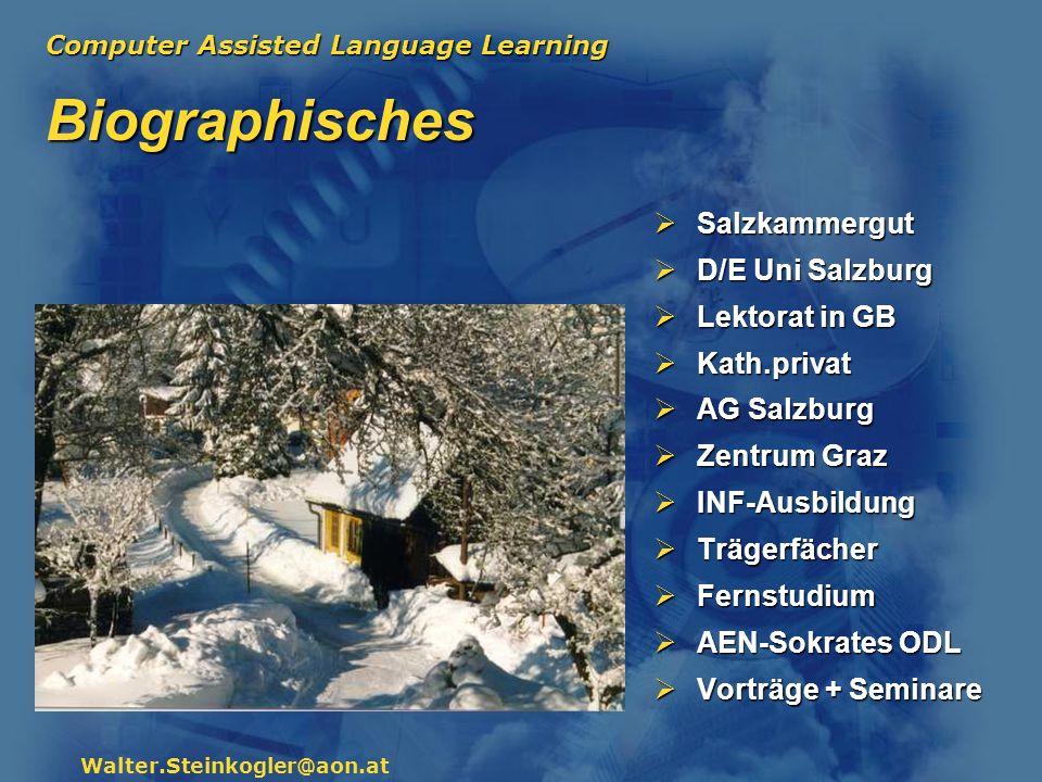 Biographisches Salzkammergut D/E Uni Salzburg Lektorat in GB