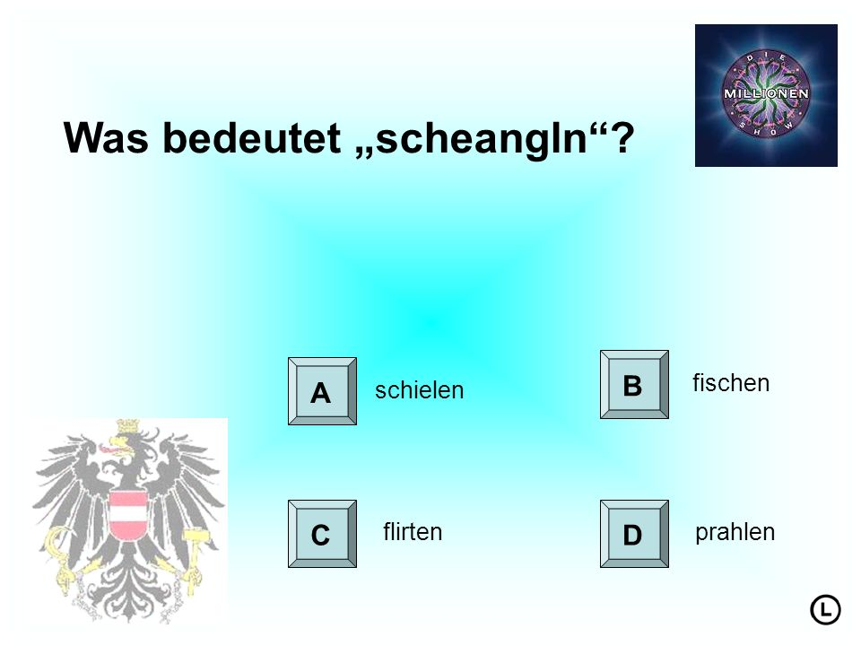 "Was bedeutet ""scheangln"