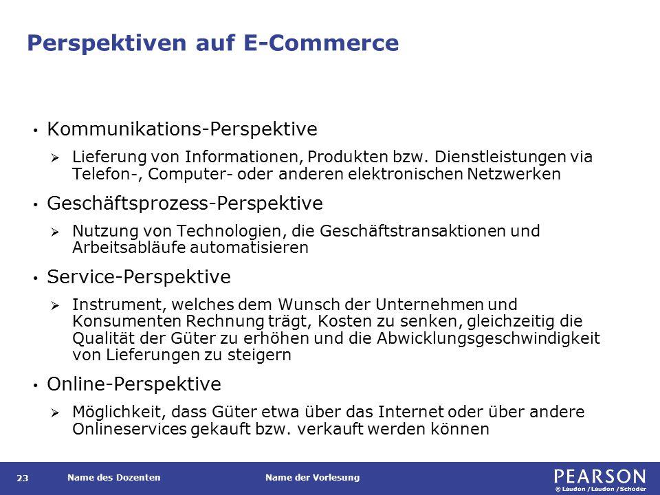 Stufen der elektronischen Geschäftsabwicklung