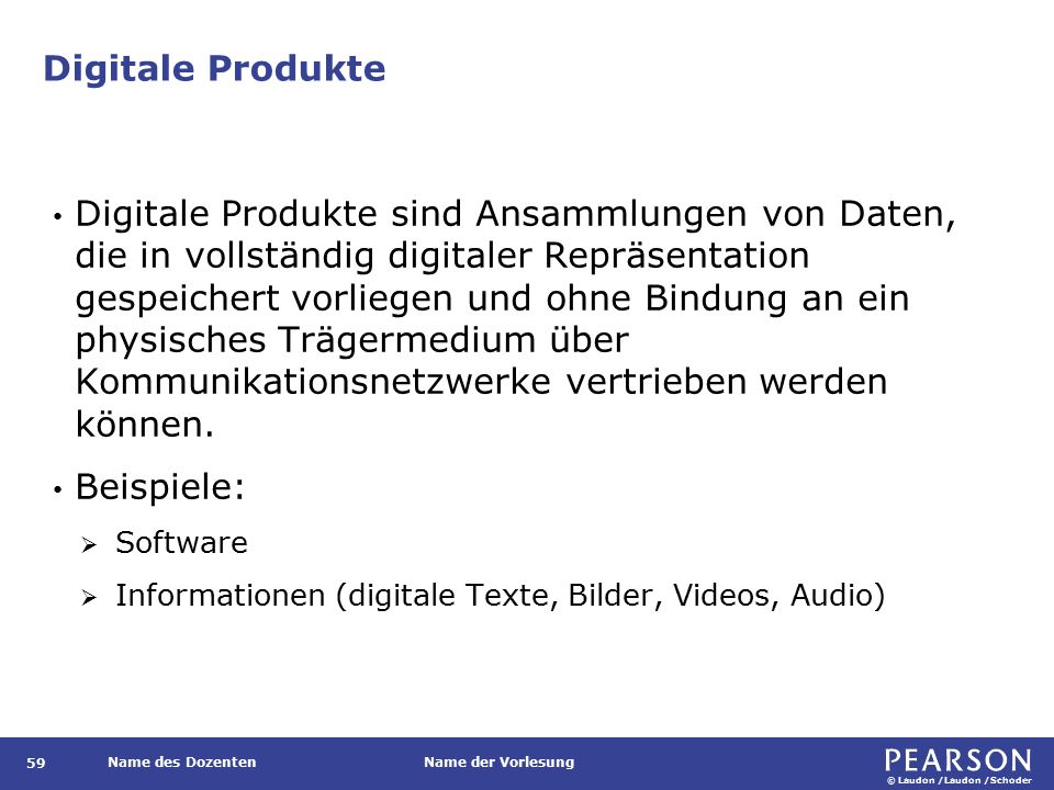 Digitale Produkte vs. traditionelle Waren