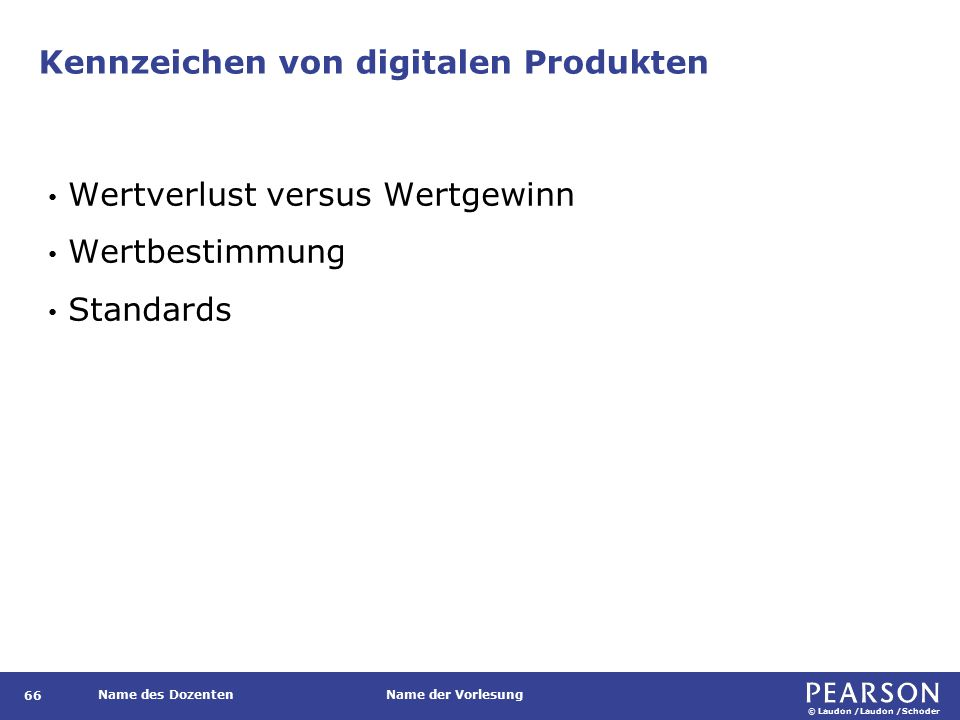 Kennzeichen von digitalen Produkten