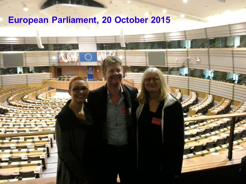 European Parliament, 20 October 2015