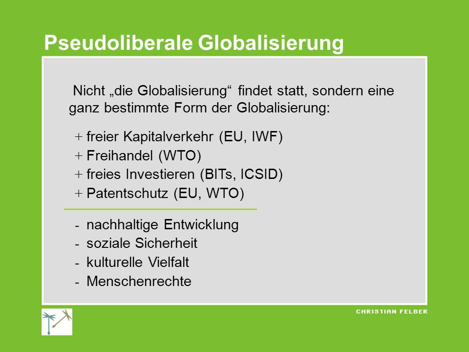 Pseudoliberale Globalisierung