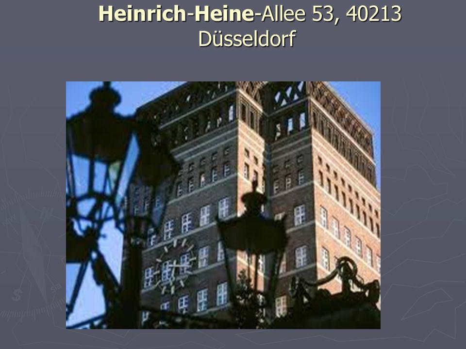 Heinrich-Heine-Allee 53, 40213 Düsseldorf