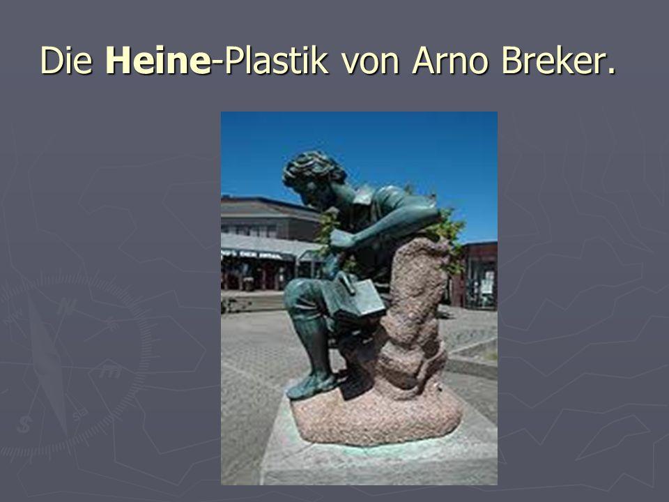 Die Heine-Plastik von Arno Breker.