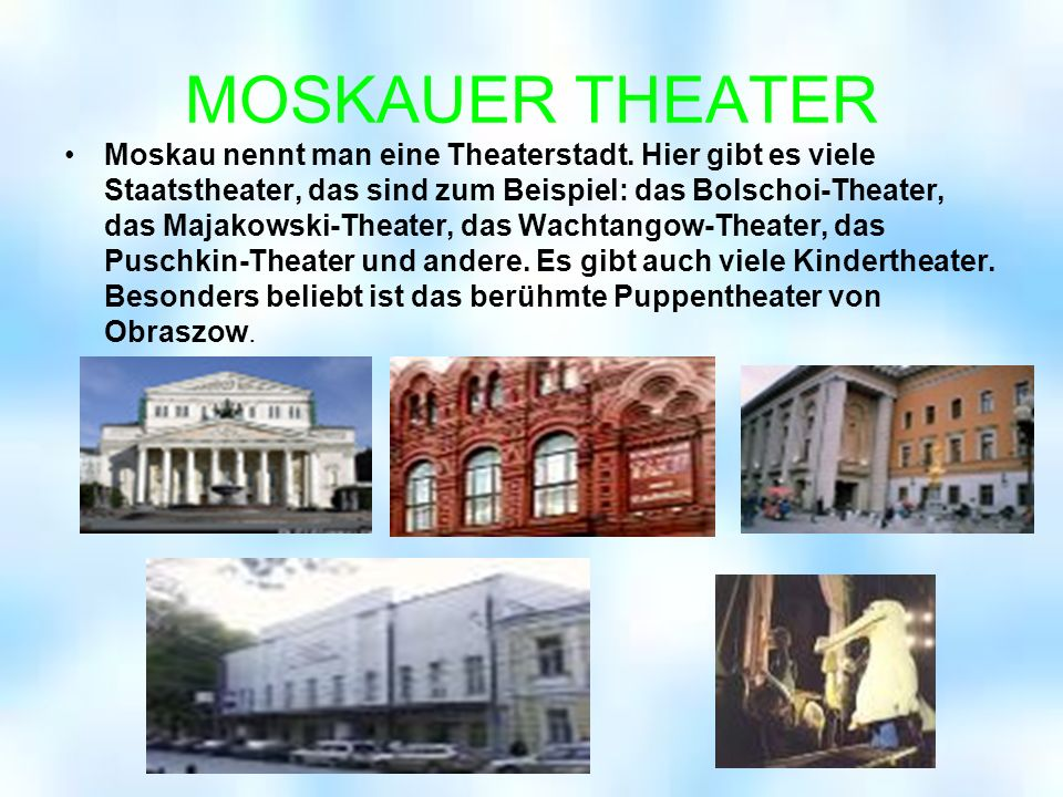 MOSKAUER THEATER